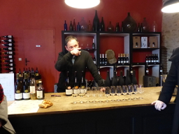 Spouthern Burgundy wine tasting in Pierreclos